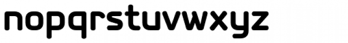PF Isotext Pro Bold Font LOWERCASE