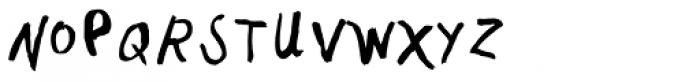 PF Kids Pro Grade Three Font UPPERCASE