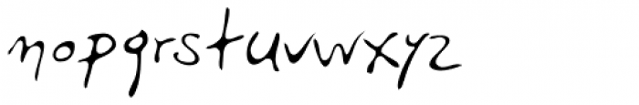 PF Libera Pro Regular Font LOWERCASE