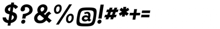 PF Lindemann Sans Bold Italic Font OTHER CHARS