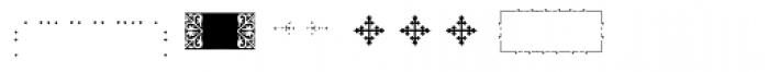 PF Ornm Treasures 1 Layer 2 Font LOWERCASE