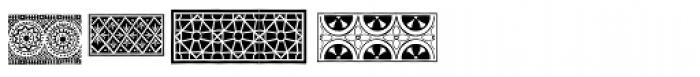 PF Ornm Treasures 1 Regular Font OTHER CHARS