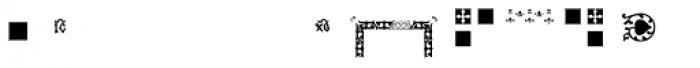 PF Ornm Treasures 2 Layer 3 Font UPPERCASE