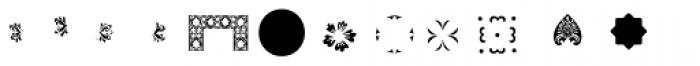 PF Ornm Treasures 2 Layer 3 Font LOWERCASE