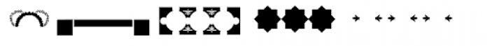 PF Ornm Treasures 3 Layer 3 Font UPPERCASE