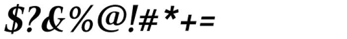 PF Press Bold Italic Font OTHER CHARS