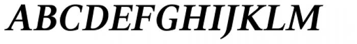 PF Press Bold Italic Font UPPERCASE
