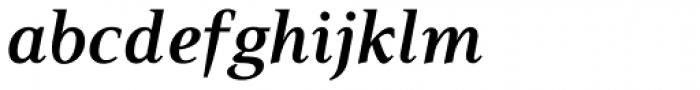 PF Press Bold Italic Font LOWERCASE