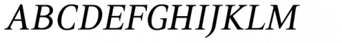 PF Press Italic Font UPPERCASE