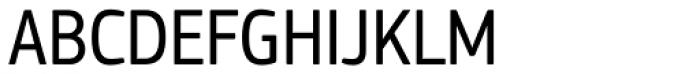 PF Square Sans Cond Pro Font UPPERCASE