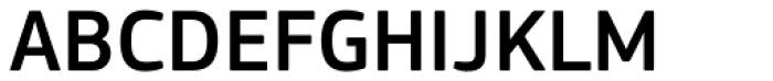 PF Square Sans Pro Medium Font UPPERCASE