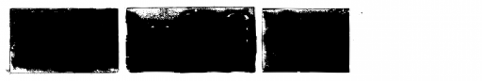 PF Stamps Pro Frames Font UPPERCASE
