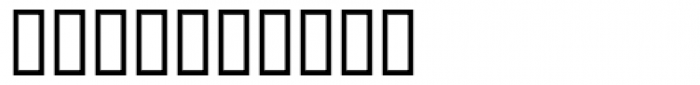 PFidel Font OTHER CHARS