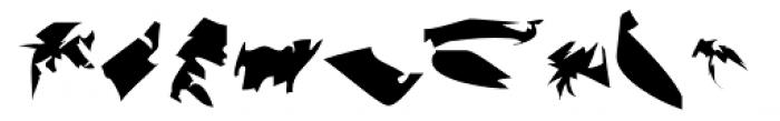 PFidel Font LOWERCASE