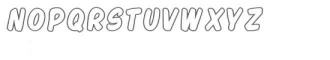 PGSnowflakeScript Font LOWERCASE