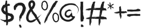 Phage Regular otf (400) Font OTHER CHARS