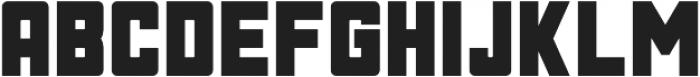 Phage Rough otf (400) Font UPPERCASE