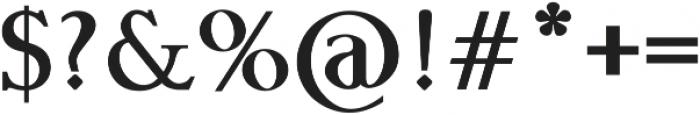 Phalanx by Mark Richardson otf (400) Font OTHER CHARS