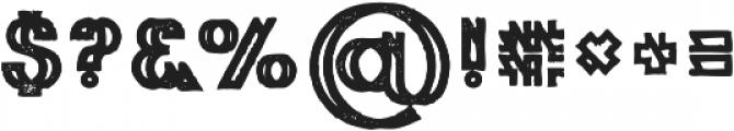 Phantom Bold Grunge otf (700) Font OTHER CHARS