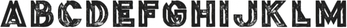 Phantom Bold Grunge otf (700) Font UPPERCASE