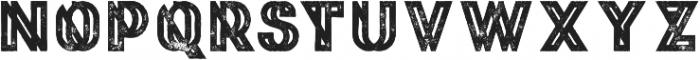 Phantom Bold Grunge otf (700) Font LOWERCASE