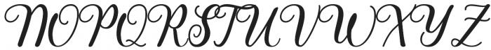 Pharosi otf (400) Font UPPERCASE