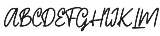 Phillips otf (400) Font UPPERCASE