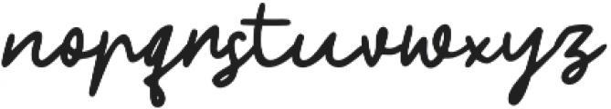 Phillips otf (400) Font LOWERCASE