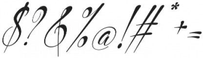 Philoshopy Italic otf (400) Font OTHER CHARS