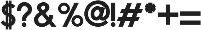 Phoenix Extra Bold otf (700) Font OTHER CHARS
