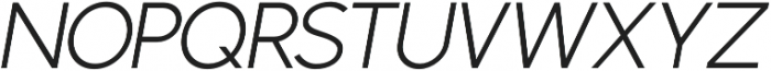 Phoenix Italic Light otf (300) Font UPPERCASE
