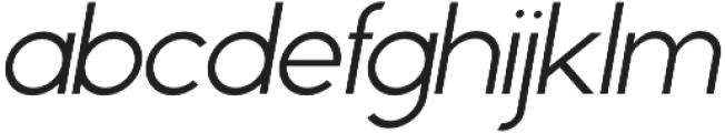Phoenix Italic Light otf (300) Font LOWERCASE