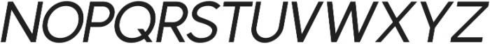 Phoenix Italic Medium otf (500) Font UPPERCASE