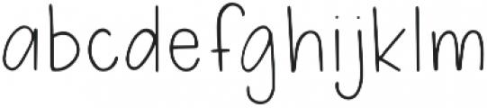 Phoenix Summer Light otf (300) Font LOWERCASE