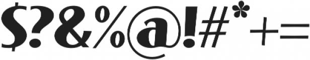 Phonema Bold Italic otf (700) Font OTHER CHARS