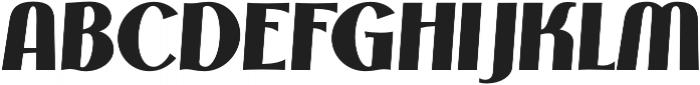 Phonema Bold Italic otf (700) Font UPPERCASE