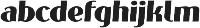 Phonema Bold Italic otf (700) Font LOWERCASE