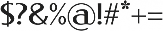 Phonema otf (400) Font OTHER CHARS
