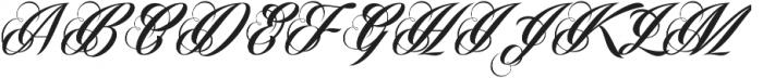 Phraell Alt ttf (400) Font UPPERCASE
