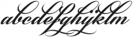 Phraell Alt ttf (400) Font LOWERCASE