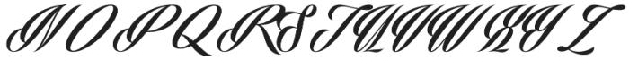Phraell otf (400) Font UPPERCASE