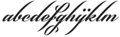 Phraell otf (400) Font LOWERCASE