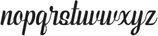 Phyton Script otf (400) Font LOWERCASE