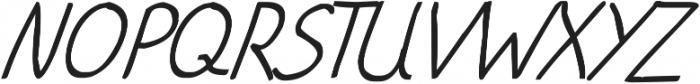 phitradesign Handwritten Bold Italic ttf (700) Font UPPERCASE