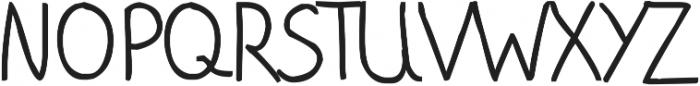 phitradesign Handwritten Bold ttf (700) Font UPPERCASE