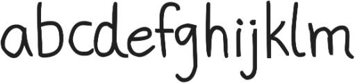 phitradesign Handwritten Bold ttf (700) Font LOWERCASE