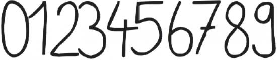 phitradesign Handwritten ttf (400) Font OTHER CHARS
