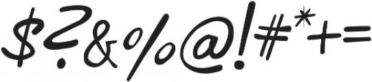 phitradesign INK Italic otf (400) Font OTHER CHARS