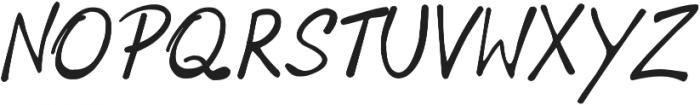 phitradesign INK Italic otf (400) Font UPPERCASE