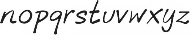 phitradesign INK Italic otf (400) Font LOWERCASE